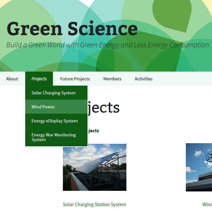 Green Science Group collaborates with Physics, Computer Science and Environmental Science on environmental projects.